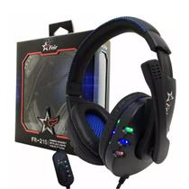 Fone Ouvido Headset Gamer Usb Pc Microfone Ps3 Xbox Notebook Feir 215 -