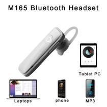 Fone Ouvido Headset sem fio marca blue stap BRANCO -