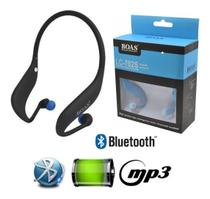 Fone Ouvido Sem Fio Bluetooth Mp3 Player Rádio Fm - Boas Lc-702S