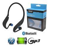 Fone Ouvido Sem Fio Bluetooth Mp3 Rádio Fm Entrada Cartão Sd - Boas