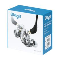 Fone Ouvido Stagg In-Ear Smp-235 Transparente -