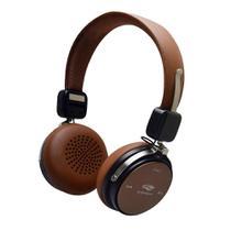 Fone PH-B600BW Bluetooth 4.2 Marrom C3Tech - C3 TECH