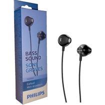 Fone Philips Taue 100bk/00 Intra Auricular Preto - Com NF -