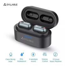 Fone Sem Fios Bluetooth Syllable S101 - Som Incrível (Brasil) -