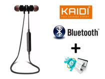 Fone Sports Sem Fio Bluetooth Original Kaidi In Ear Som Alto -