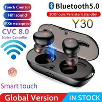 Fone Y30 Headset Compatível LG K11 Samsung A20 J4 J5 A10 -