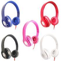 Fones de Ouvido Headphone com Fio Dobrável - Maxsound