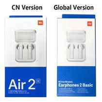 Fones de Ouvido Mi Air2 SE Mi True Wireless Basic 2SE Novo Bluetooth - Red.Mi-Air.Dots-Xiaomi