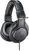 Fones de Ouvido para Monitor de Estúdio Profissional Audio-Technica ATH-M20X,Preto -