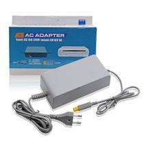 Fonte 110v-240v Bivolt Nintendo Wii U - Ac Adaptador Cinza - Techbrasil