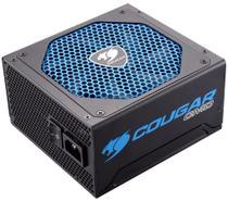 Fonte 600W Cougar CMD - Cougar UIX - Sensor TSR - Eficiência 80 - CGR BD-600 -