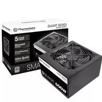 Fonte 600w, Thermaltake, Smart Series, 80 Plus White, PS-SPD-0600NPCWBZ-W -