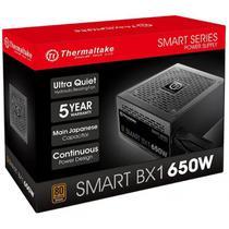 Fonte 650W TT SMART BX1 80+BRONZE PS-SPD-0650NNFABB-1 - Thermaltake