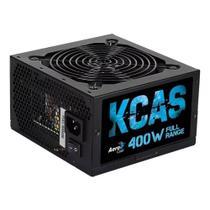 Fonte Aerocool 400w 80 Plus White Full Range Kcas-400w -