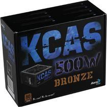 Fonte Aerocool 500W 80 Plus Bronze KCAS-500W -