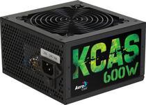 Fonte Aerocool ATX 600W 80 Plus Bronze Full Range KCAS-600W -