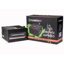 Fonte Alimentação ATX Gamemax GP650 650W 80 Plus Bronze PFC Ativo -