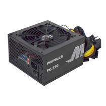 Fonte ATX 550W 24P/Sata PCWELLS K-Mex - PK-550 -