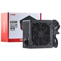 Fonte ATX 600W Pcyes PXSP600WPT Spark 75 PFC Ativo -