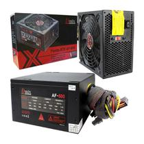 Fonte Atx 600w Real  Gamer Suporta Core I7 High Power Dmix AF-600 - Dex