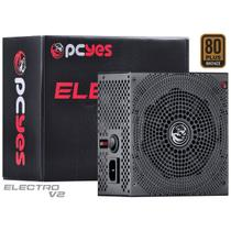 Fonte ATX 650W 80 Plus Bronze Electro V2 80 Pcyes -