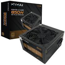 Fonte ATX 850W 80 Plus Bronze - PFC Ativo - MYMAX -