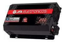 Fonte Automotiva 200a Jfa Carregador Sistema Sci -