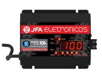 Fonte Automotiva Digital e Carregador 10 AMP com Display Led JFA -