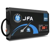Fonte Automotiva Digital JFA 200A 10000W SCI Bivolt Carregador Bateria LED Voltímetro Amperímetro -