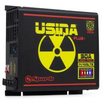 Fonte Automotiva Digital Spark Usina 90A Smart Cooler Bivolt com Medidor de Bateria -