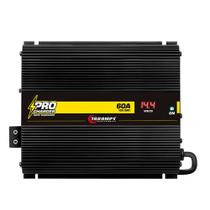 Fonte Automotiva Digital Taramps Pro Charger 60A Bivolt 14.4V Carregador Som Automotivo -