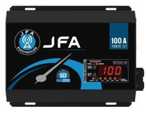 Fonte Automotiva JFA 100A 14.44V com Voltímetro -