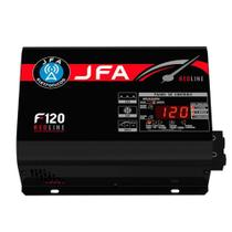 Fonte Automotiva JFA 120A Red Line Bivolt Voltímetro Digital -