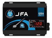 Fonte Automotiva Jfa 120A Sci 6000w Digital Bivolt Com Voltímetro -