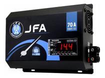 Fonte Automotiva Jfa 70a Slim Bivolt com Voltímetro e Carregador de baterias -