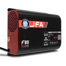 Fonte Automotiva JFA Redline F80 80A 1200W Bivolt Display LED Voltímetro e Amperímetro -