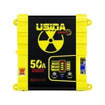 Fonte Automotiva Spark Usina Smart 50a Battery Meter Bivolt -