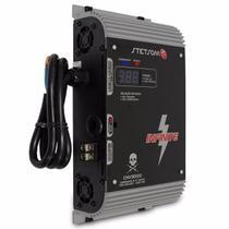 Fonte Automotiva Stetsom CHV3000 33A Amperes 220V Bivolt Automático Carregador Bateria High Voltagem -