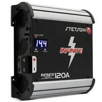 Fonte Automotiva Stetsom Infinite 120a 9000w Rms Bivolt Carregador Digital com Voltímetro Sistema Ab -
