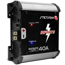 Fonte Automotiva Stetsom Infinite 40A 1000W RMS Bivolt Carregador Digital