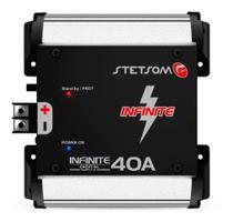 Fonte Automotiva Stetsom Infinite 40a Carregador De Bateria -