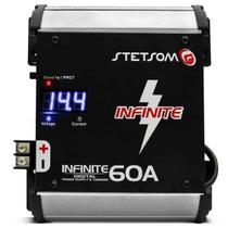 Fonte Automotiva Stetsom Infinite 60 Carregador digital -
