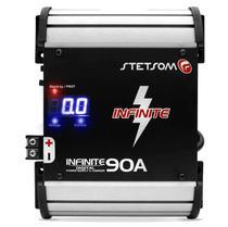 Fonte Automotiva Stetsom Infinite 90A 5000W RMS Bivolt Carregador Digital com Voltímetro LED -