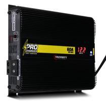 Fonte Automotiva Taramps 60A Pro Charger 860W Bivolt com Seletor de Voltagem e Voltímetro LED -