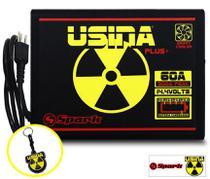 Fonte Automotiva Usina 60 A Battery Meter Carregador Bateria - Usina Spark