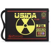 Fonte Automotiva Usina 70a Battery Meter Carregador Bateria -