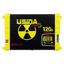 Fonte Automotiva Usina Smart 120a Bivolt Battery Metter -