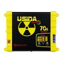 Fonte Automotiva Usina Smart 70a Bivolt Battery Metter -