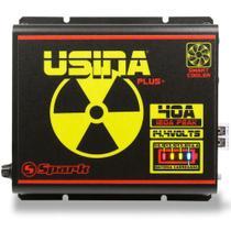 Fonte Carregador Automotiva Usina 40A Plus Battery Meter -