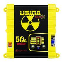 Fonte Carregador Automotiva Usina 50A Plus Battery Meter -